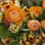 Flowers for sale at the Salt Spring Saturday Market